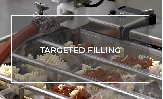 Targeted Filling with a Cobot