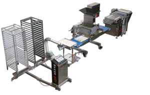Robotic automated cookie production systems