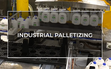 Click to watch industrial palletizing video
